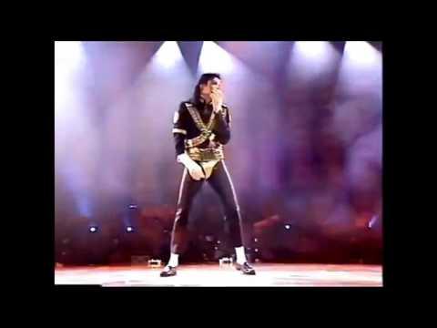 Michael Jackson - Don't Stop Till You Get Enough ( Live ) Fan World Tour