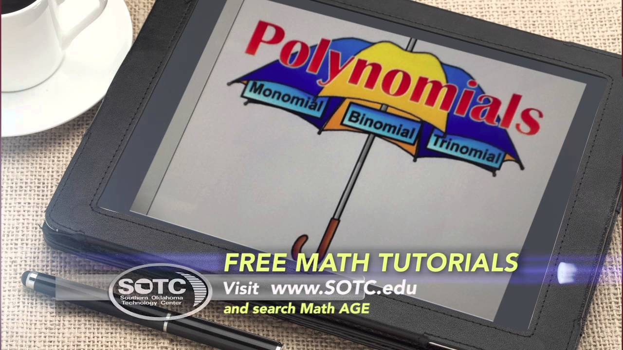 FREE Math Tutorials from SOTC online - YouTube