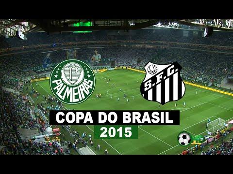 Jogo Completo e Pênaltis - Palmeiras 2 x 1 Santos - Final Copa Do Brasil 2015 - 02/12/2015 - HD