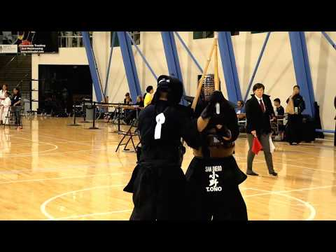 Kendo 2017 Nikkei Games 2 Dan Division: Semi Finals 2