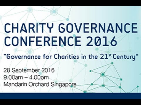 CGC 2016 Panel Discussion 1: Lessons on Corporate Governance Applicable to Charities
