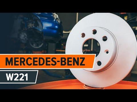 Mercedes Bremsscheiben Wechseln