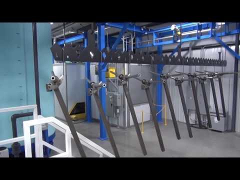 Powder Coating System - Fully Automated And Custom