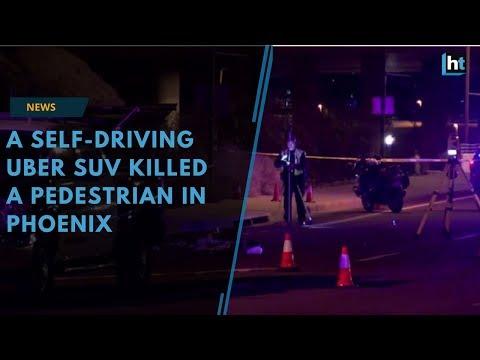 A self-driving Uber SUV killed a pedestrian in Phoenix
