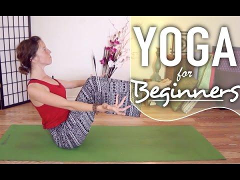 yoga for beginners  boat pose yoga pose breakdown  youtube