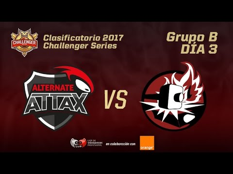 Torneo Acceso Challenger - ALTERNATE ATTAX VS TEAM FORGE