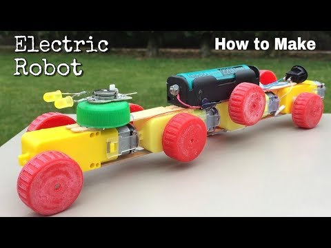 Download Youtube: How to Make a Walking Robot - Amazing Electric Robot for Fun
