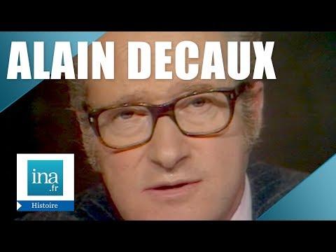 Alain Decaux Raconte : La Bande à Bonnot   Archive INA