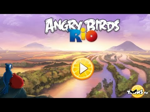 Game tutorial  Kid's game   Angry Birds Rio   how to play game