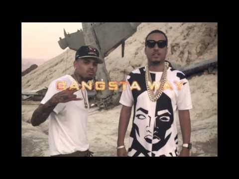Chris Brown feat French Montana - Gangsta Way (CDQ)