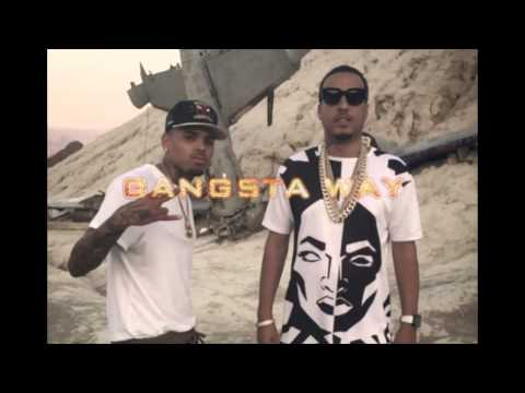 Chris Brown feat French Montana - Gangsta Way (CDQ)