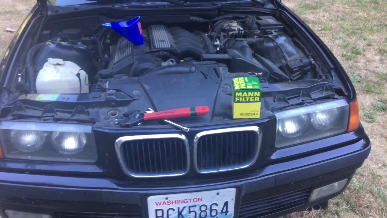 hight resolution of oil change basics 1998 bmw 328i m52 2 8l engine