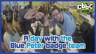 CBBC: A Day with the Blue Peter badge team
