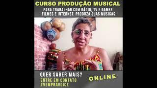 Curso de Produção Musical - Depoimento Andrea