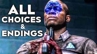 Detroit Become Human THE INTERROGATION ALL Choices And Outcomes (The Interrogation All Endings) thumbnail