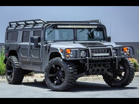 2003 Hummer H1 Wagon 4dr Turbodiesel Stock 10532 Youtube