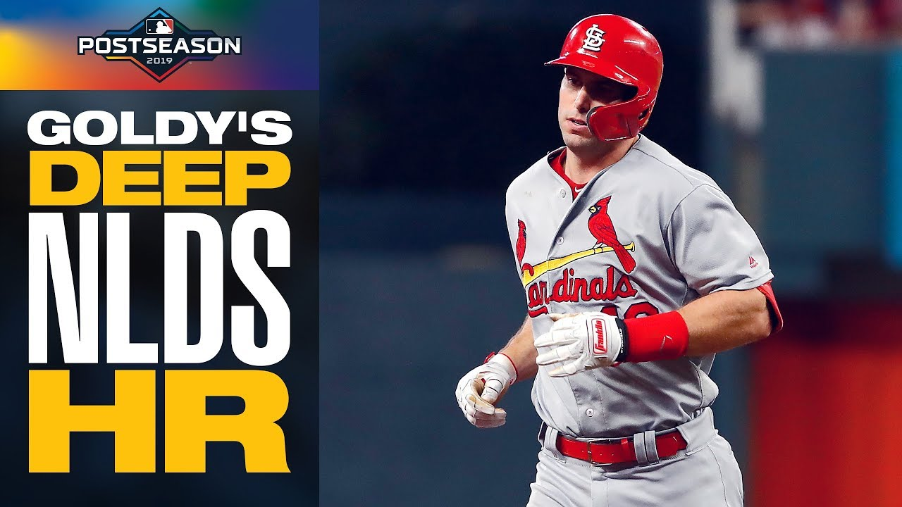 Paul Goldschmidt launches DEEP home run as Cardinals get back into NLDS Game 1   MLB Postseason