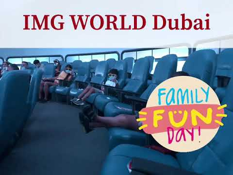 IMG WORLD DUBAI – The rides and fun with Amir