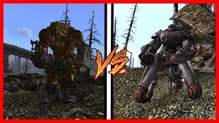 Fallout 3 Npc Battle 3 3 Behemoths vs 8 Sentry Bots