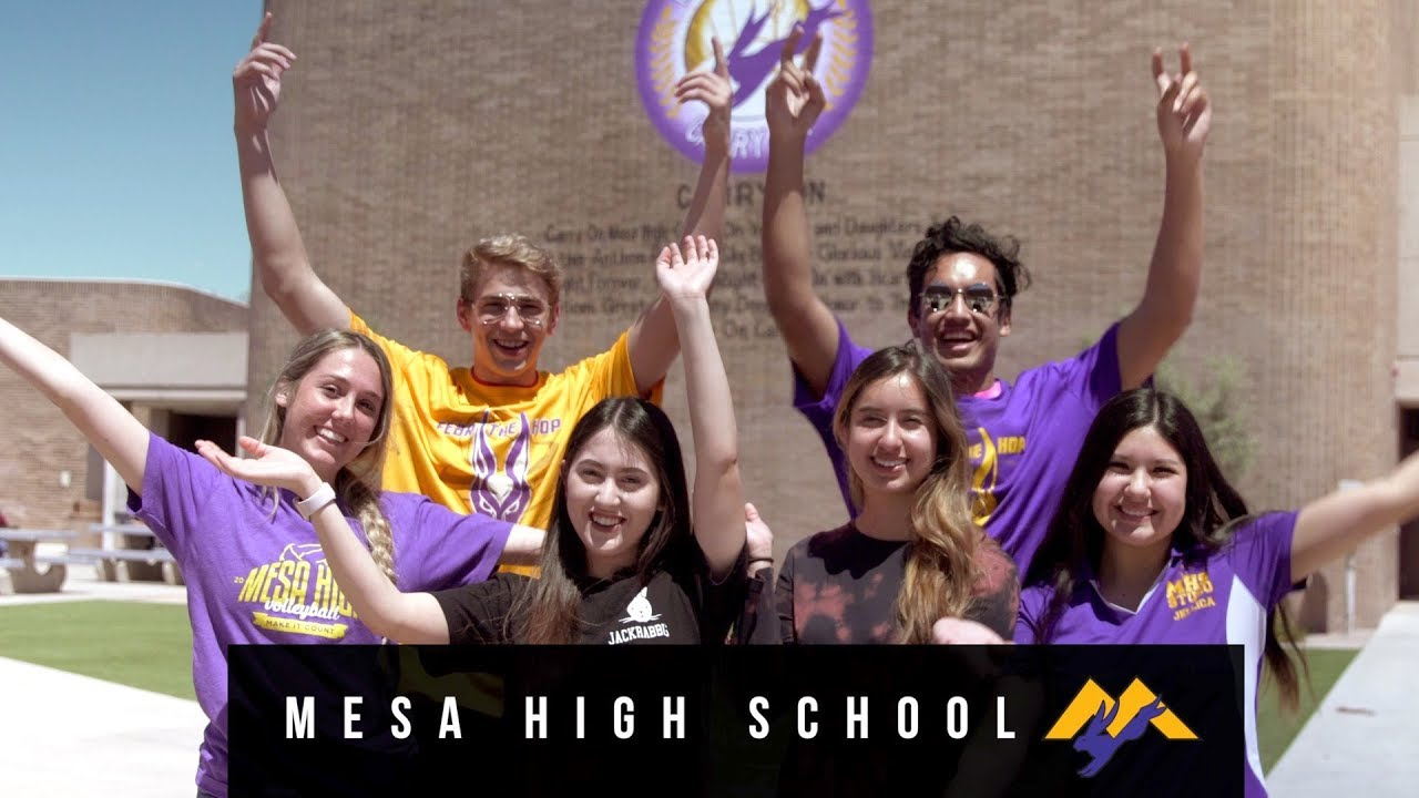 Mesa High School Tradition. Honor. Excellence.