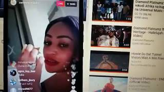 Zari the boss lady Amtolea Matusi Hamisa Mobeto Live Instagram[ Party 2]