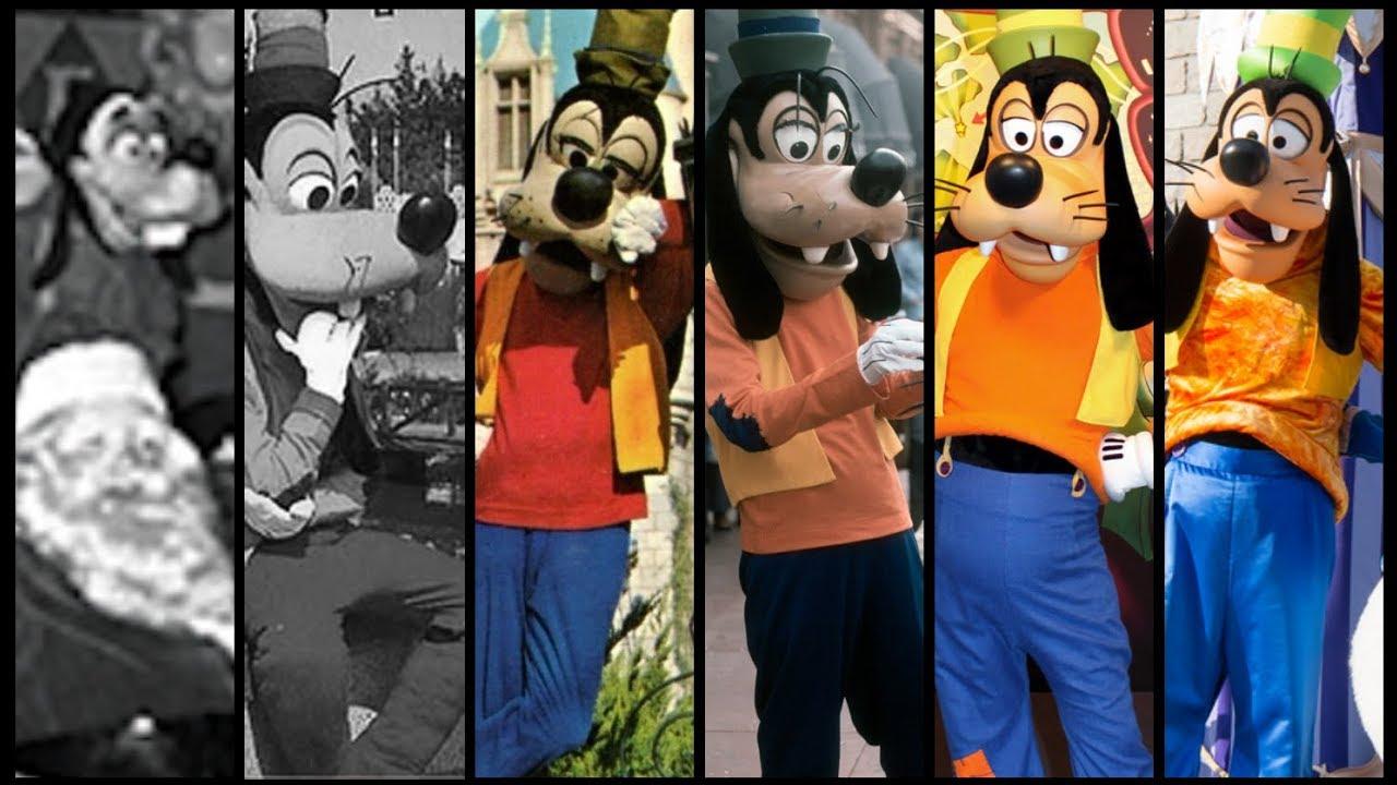 Evolution Of Goofy In Disney Theme Parks Distory Ep 7 Disney Theme Park History Youtube