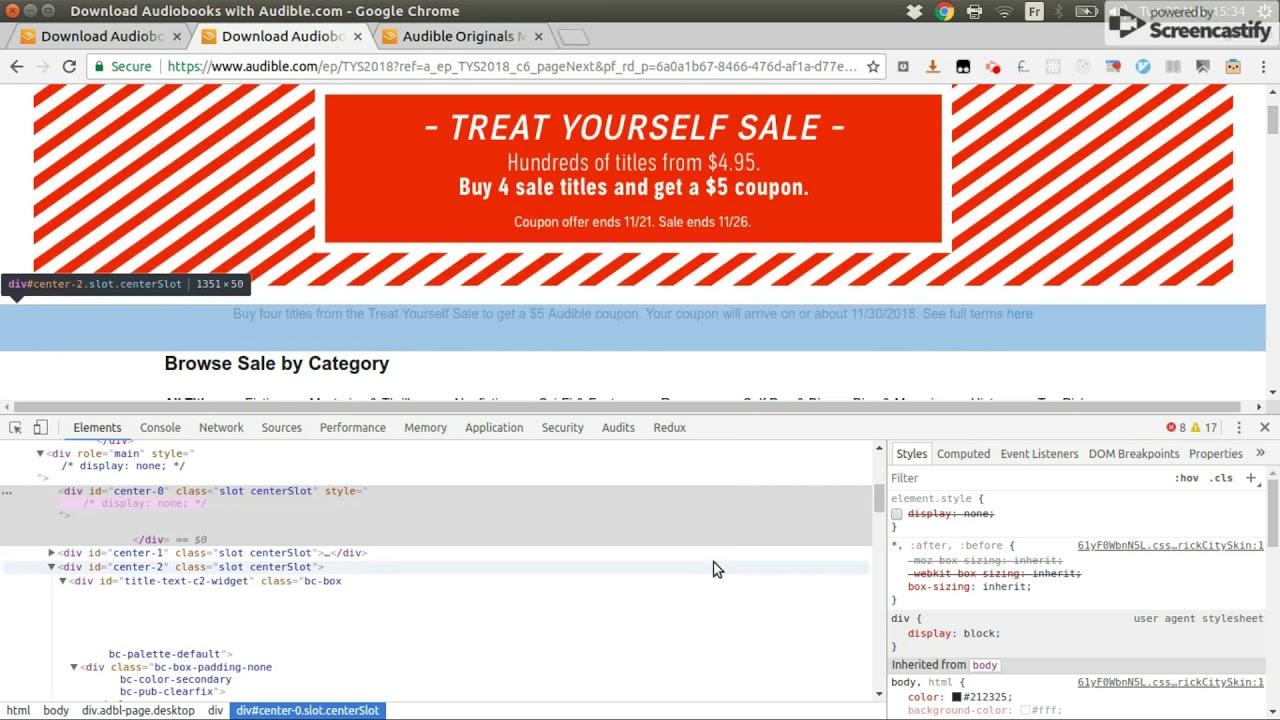 Sam Debugs - Episode 3 - Fixing Audible Horizontal Scroll CSS Bug
