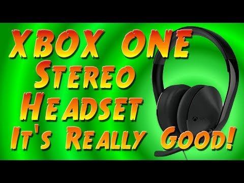 Microsoft XBOX ONE Stereo Headset Review and Unboxing - XBOX ONE gaming Headset Review