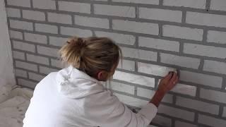 How to create a look a like brick wall