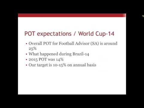 Soccer betting with Jon Roberts