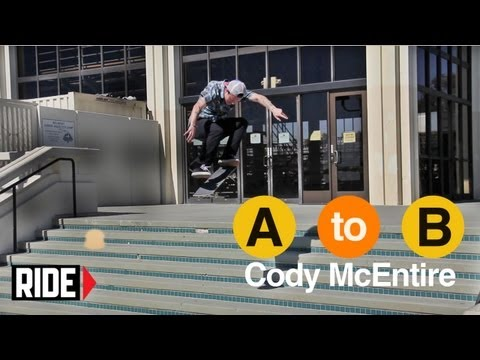 Cody McEntire Skates Long Beach - A to B
