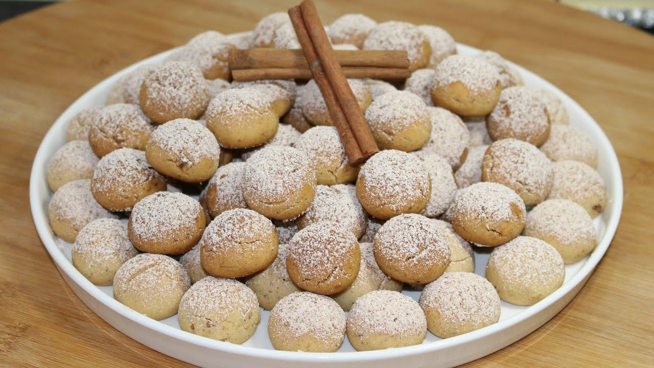 Agizda dagilan nefisss tarçinli cevizli kurabiye tarifi