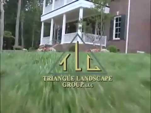 Triangle Landscape Group Llc Of Raleigh Nc Youtube