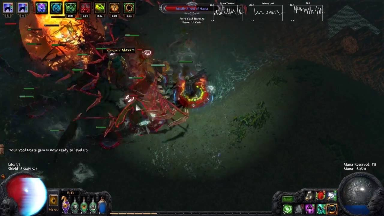 Scourge Claw Build