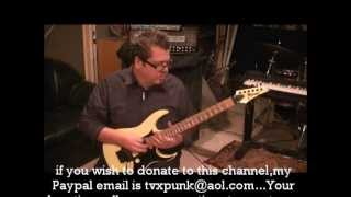 How to play Daddy Brother Lover Little Boy by Mr Big on guitar by Mike Gross