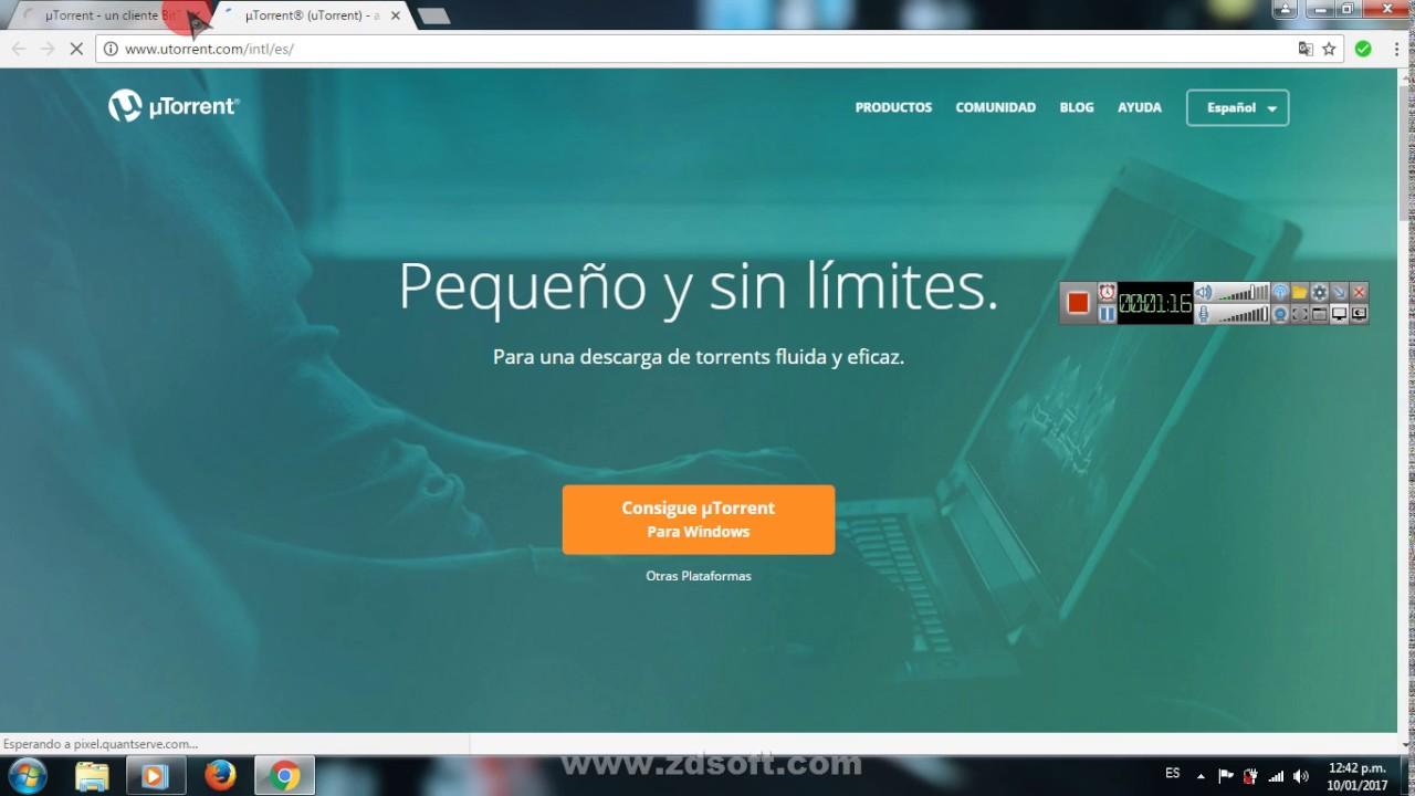 descargar utorrent para pc full en español