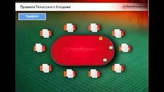 Основы-правила игры в Покер- Техас Холдем. (Обучение/Капитал)