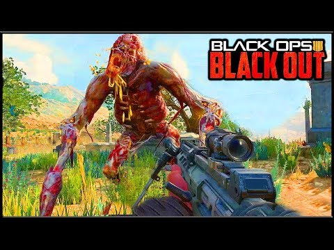 BLACKOUT - ОГРОМНЫЙ ЗОМБИ НА СТРАЖЕ ТОП ЛУТА | Call of Duty Black Ops 4 Blackout