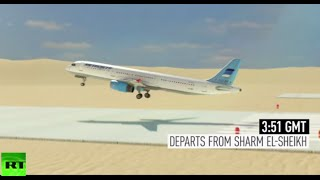 Sinai 7K9268 jet downed by foreign-made bomb, $50mln for info – FSB