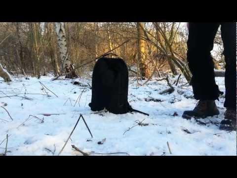 Sortie dans les bois avec présentation de mon sac de promenade
