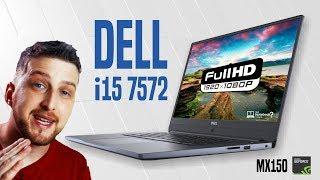 Dell i15 7572 Notebook Inspiron série 7000 em alumínio, MX150 e teclado retroiluminado
