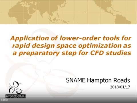 Preparing for CFD: Lower-order tools for design space optimization