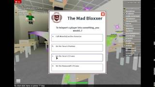 Roblox University Mad Bloxxer Test #3