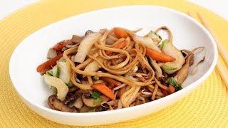Homemade Vegetable Lo Mein Recipe - Laura Vitale - Laura In The Kitchen Episode 878