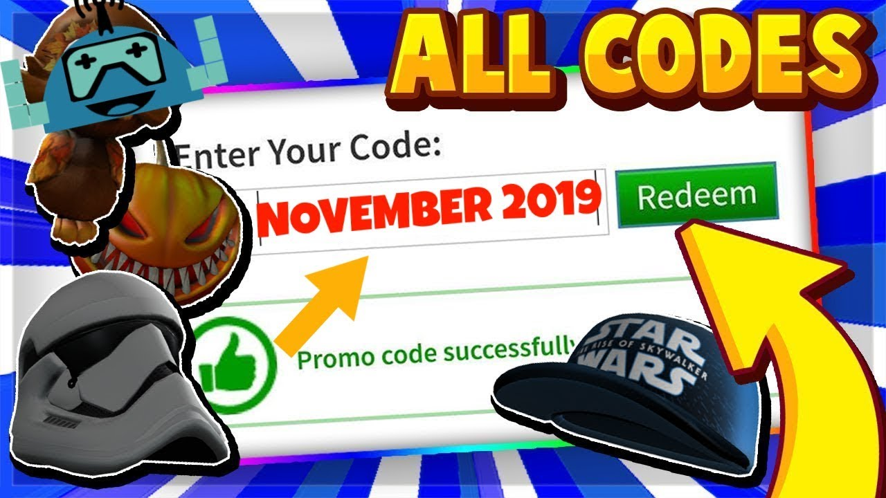 Robux All New Thanksgiving And November 2019 Roblox Codes All
