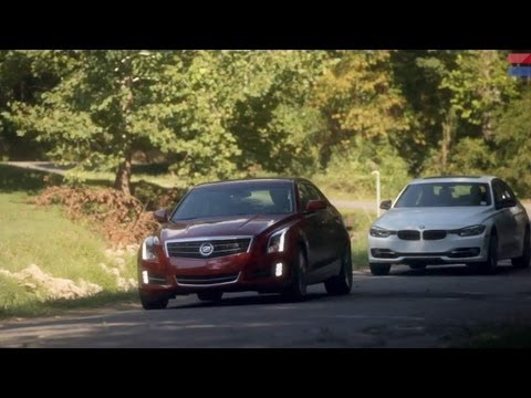 Showdown - 2013 Cadillac ATS 2.0T vs. 2013 BMW 328i - CAR and DRIVER
