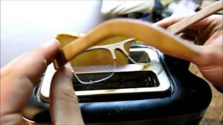 smart material - Brillenglashalterung | Makerspace