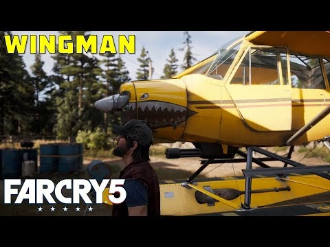 Wingman | How to get Nick Rye, Specialist Companion | Rye & Sons Aviation Holland Valley | Far Cry 5