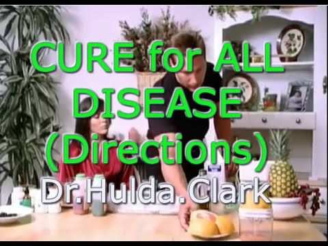 CURE for ALL disease inc. CANCER - H.Clark Full Movie