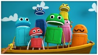 """Row Your Boat"" Classic Songs by StoryBots"